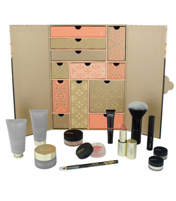 "**INIKA Organic** <br><br>  Perfect for those who prefer to keep their beauty products organic and natural, INIKA Organic is packaging 12 of their favourites in one of the most gorgeous calendars around.  <br><br> INIKA Organic Beauty Advent Calendar, $199, shop it from [Myer online here](https://www.myer.com.au/p/inika-organic-beauty-advent-calendar-2020|target=""_blank"")."