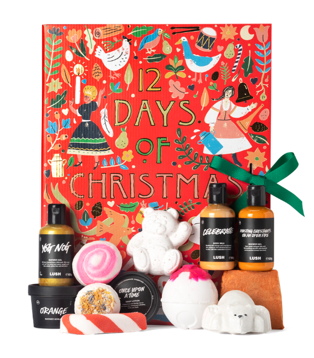 "**Lush**<br><br>  If bubble baths are your happy place, they're about to get a lot happier. Lush has released a special edition advent calendar this Christmas full of bath, shower and body goodies.  <br><br>  Lush 12 Days of Christmas, $150, available at Lush and online, [here](https://au.lush.com/products/christmas-gifts/12-days-christmas-0?gclid=Cj0KCQiAwMP9BRCzARIsAPWTJ_GbAHitSmb-RQ6lSwQgMnnFVIpwExGqFfBr4JoF3K1movMuLFZakQwaAi-NEALw_wcB|target=""_blank"")."