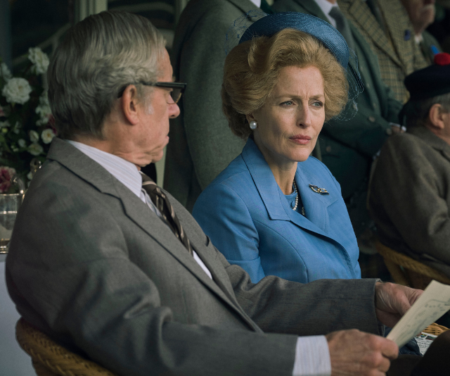 Gillian Anderson's portrayal of Thatcher has been widely acclaimed.