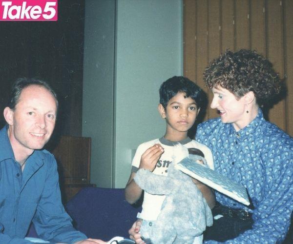 John, Saroo and I.