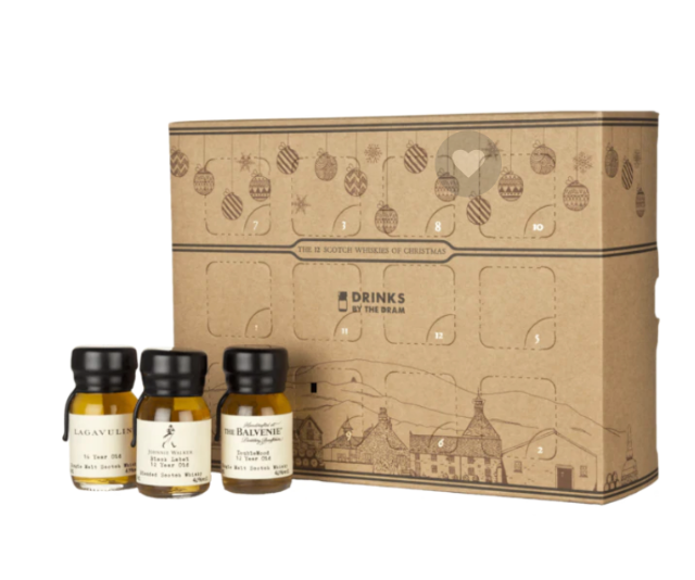 "**Drinks of the Dram 12 Drams of Whisky, $226.85, available from [Dan Murphy's](https://www.danmurphys.com.au/product/DM_ER_1000005770_DD12D/drinks-by-the-dram-12-drams-of-christmas|target=""_blank"")**<br><br>  Although unlikely, if 24 days of whisky is a little much, a 12 day option is available – and makes the perfect gift under $100."