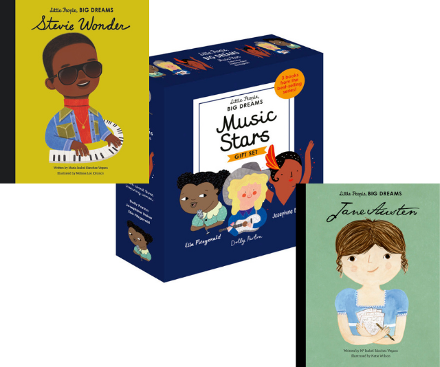 """** Little People, Big Dreams [Boxed Set](https://www.dymocks.com.au/book/women-in-science-a-little-people-and-big-dreams-boxed-set-by-isabel-sanchez-vegara-9781786034021