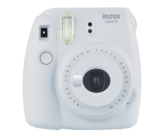 """**FujiFilm [Instax Mini 9](https://www.instax.com.au/collections/instax-cameras/products/instax-mini-9-smokey-white