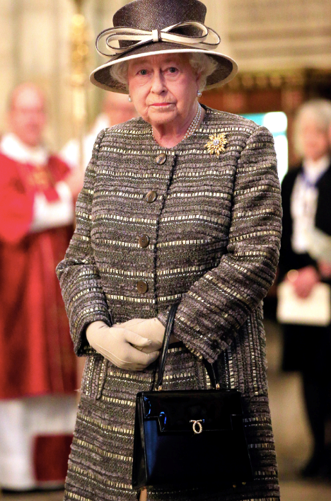 The Queen and Launer handbags are pretty much the Kimye of royal fashion. A longtime staple of Her Majesty, you can probably bet your phone, laptop, house, hell even your wardrobe that Queen Elizabeth II will be bringing the best of her Launer collection to any and every event. Check out our favourite match ups below.