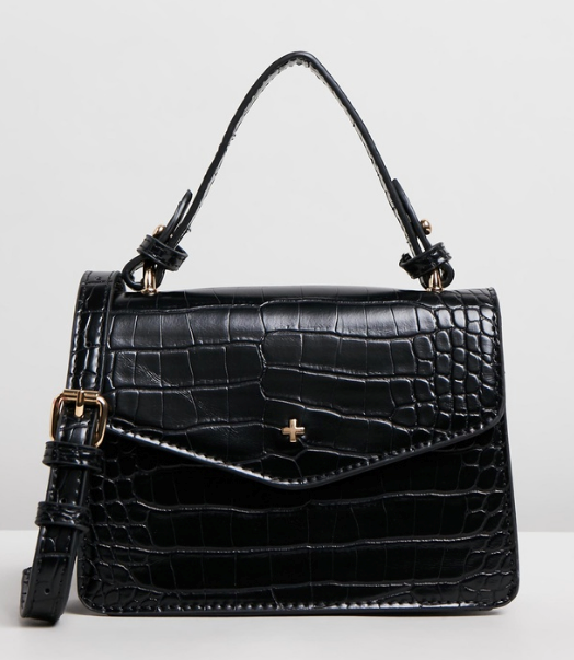 """Or if you're after something a little bolder, this textured Peta and Jain style is a statement in itself. $69.95, **[buy it online via The Iconic here](https://www.theiconic.com.au/anna-mini-top-handle-bag-940652.html