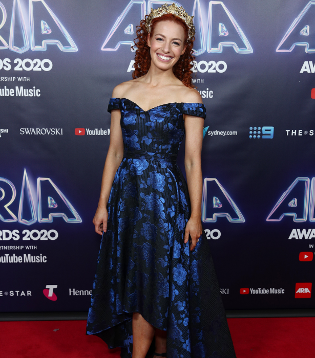 **Emma Watkins**<br><br>  While we're slightly disappointed the goats didn't make it to the official event, Emma does look absolutely radiant.