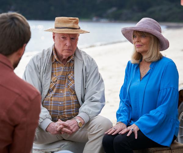Martha and Alf are unsure how Kieran will fit in.