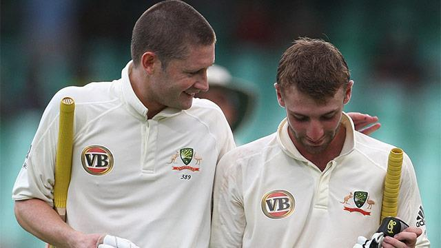Michael and Phillip shared an incredibly close bond with Michael acting as a mentor figure to the up-and-coming cricket star.