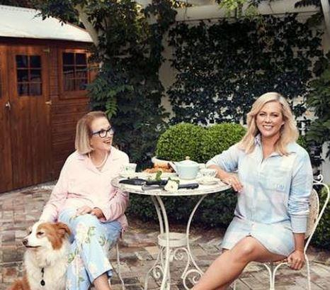 "The TV star's mother Elizabeth ""Libby"" Armytage (left) sadly died this month"