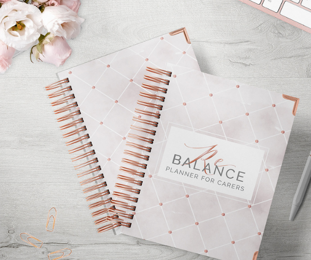 **Rebalance Planners, $69.95:** Rebalance Planners is the ultimate diary for carer's and special needs parents. Made by a mum of a child with severe nonverbal autism, includes medication trackers, symptom trackers, specialist and therapist contact info, self care components and more.