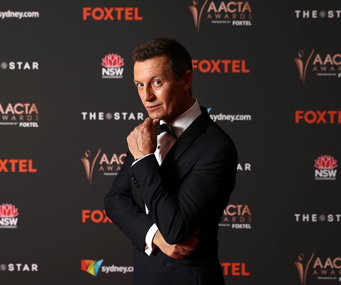 AACTAs host Rove MacManus strikes a pensive pose.