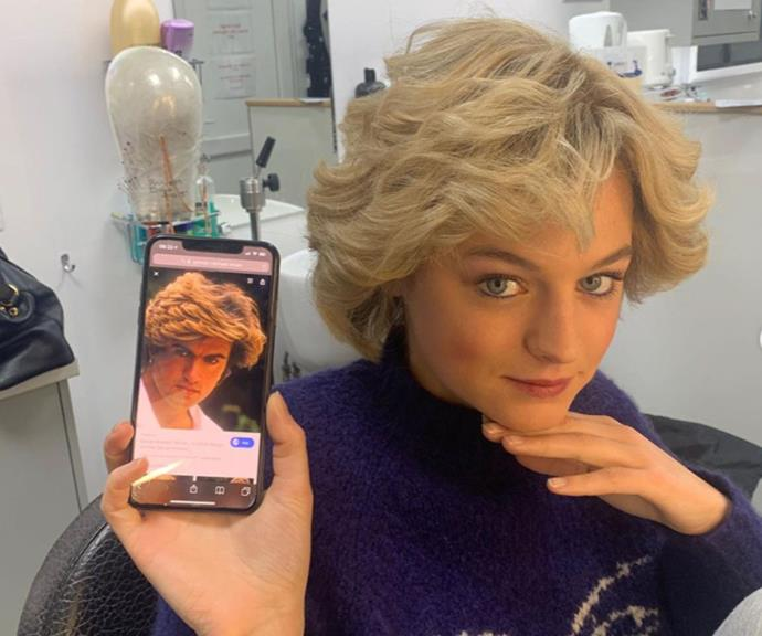 Mullet vs. mullet: Who wore it better - George Michael or Emma Corrin as Princess Diana?