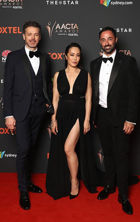 *MasterChef* judges Jock Zonfrillo, Melissa Leong and Andy Allen make for one stylish trio.