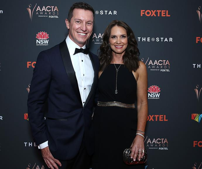 His leading lady! It was date night for Rove McManus and his actress wife Tasma Walton.