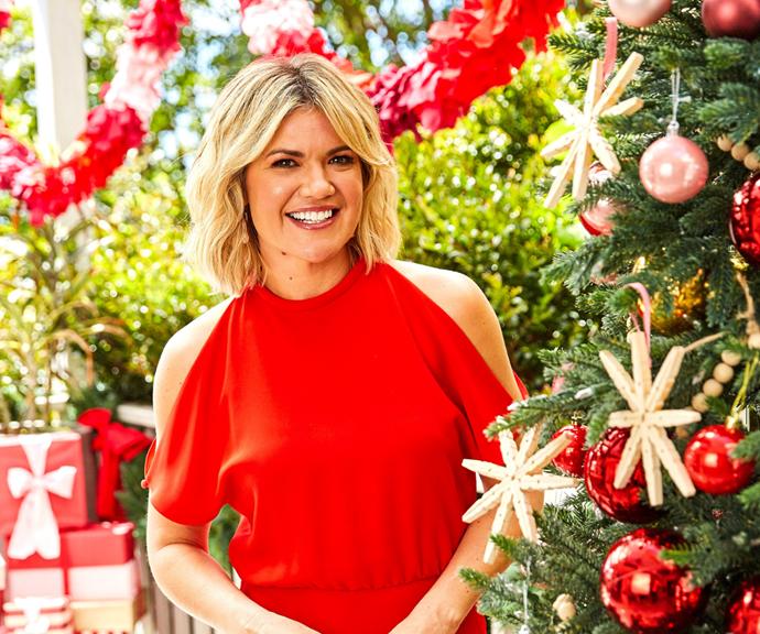 Sarah is bringing us festive joy.
