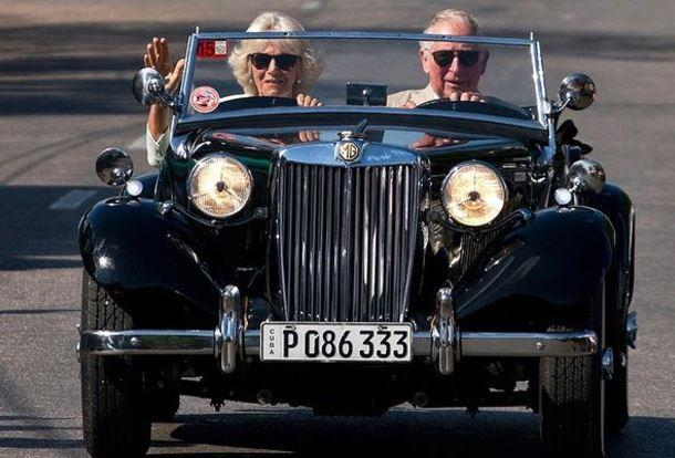 Smooth as ever, Prince Charles and Duchess Camilla released this cool as cucumber pic, which was originally snapped during a tour of Cuba in 2019.