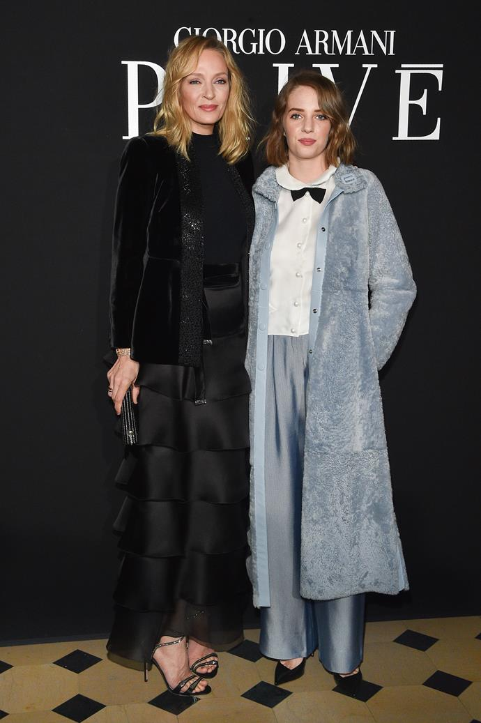 "**Maya Hawke 22, daughter of Uma Thurman and Ethan Hawke**  <br><br> The starlet's parents divorced in 2004 amid rumours that Ethan was cheating on the *Pulp Fiction* actress – with the kids' nanny Ryan Shawhughes. Ryan and the actor would go on to wed in 2008, and all these years later Maya is still stuck between her feuding famous parents!  <br><br> ""Maya might look like her mum, but everything else is all Ethan,"" a source tells. ""She's a very studious, serious young woman who idolises her dad's career. She's about to star in a new movie about the Beatles with Ethan, which has caused a lot of friction between herself, Ethan and Uma."""