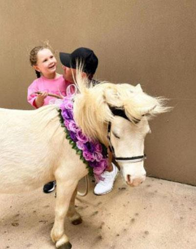 "Making magical memories: ""To my daughter, unicorns are real."""