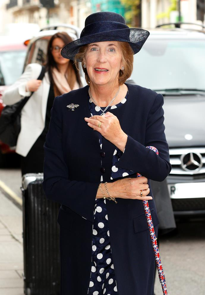 Prince Harry's godmother, Lady Celia Vestey, suddenly died over the weekend.