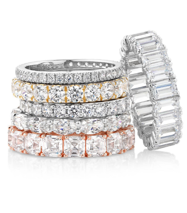 **Secrets Shhh Rings, from $799:** Perfection that doesn't cost the earth, stunning celebration bands crafted in solid 14ct and 10ct golds just in time for Christmas and priced from $799.