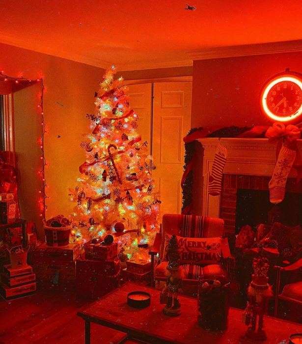 "**Gigi Hadid** <br> The model-turned-new-mum put her tree up ahead of December 1 this year, thanks to a few early decorations gifted to [her daughter](https://www.nowtolove.com.au/parenting/pregnancy-birth/gigi-hadid-baby-zayn-malik-65172|target=""_blank"")."