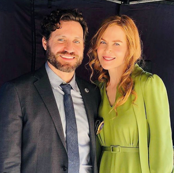 She also shared this snap with fellow actor Edgar Ramirez.