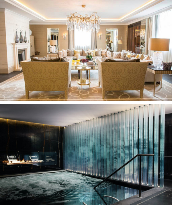 The penthouse also has access to the historic Corinthia Hotel and all its incredible amenities, including its own boutique version of department store Harrods, a spa spread over four floors and a lavish indoor pool.