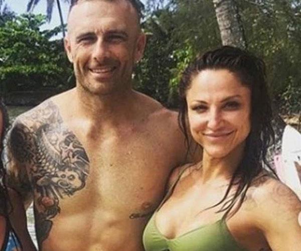 The couple met in Tahiti