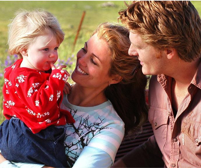 Sara and Alisha both played baby Charlotte.