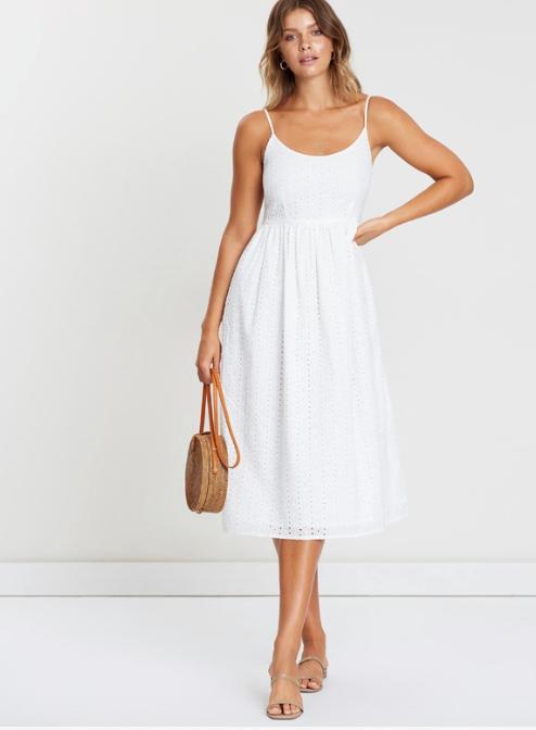 "Atmos&Here Hayat Midi Dress, $79.99. [Buy it online via The Iconic here](https://www.theiconic.com.au/hayat-midi-dress-750705.html|target=""_blank""|rel=""nofollow"")."