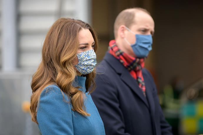 Kate and William's new roles as  joint patrons of NHS Charities Together was announced as they commenced their three day tour.