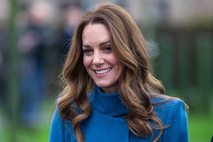 The Duchess kept her makeup minimal and her hair effortless. Oh to be a Queen Consort in waiting...