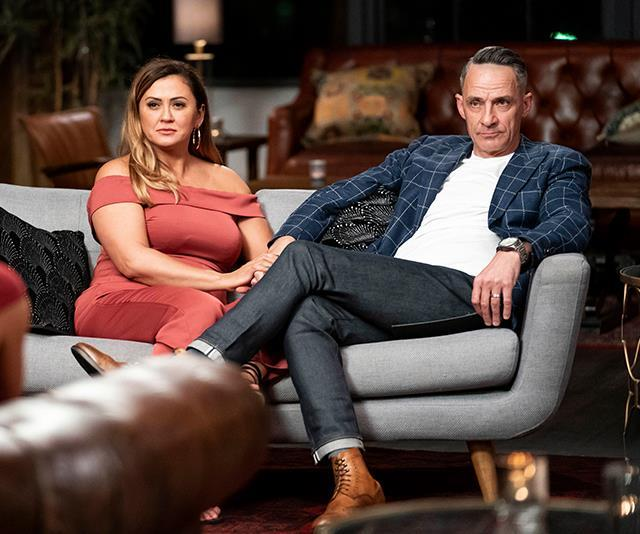 Mishel, pictured with her ex-husband Steve on the show, is avoiding dating apps for the time being.