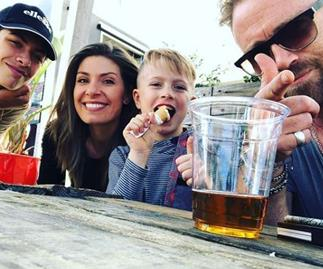 Family first! Meet Home And Away star Ditch Davey's two mini-me sons