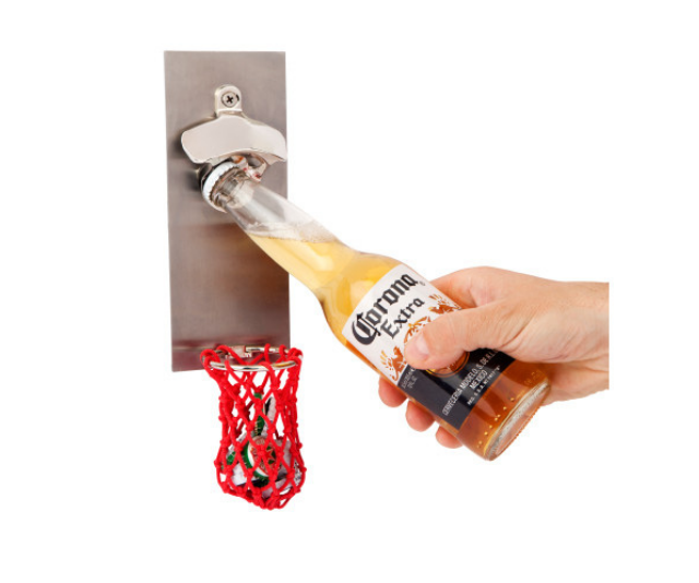 "**Basketbeer [bottle opener with stainless steel backboard](https://www.hardtofind.com.au/158447_basketbeer-bottle-opener-with-stainless-steel-backboard?variant_id=1362590&country=AU&gclid=CjwKCAiAwrf-BRA9EiwAUWwKXp6BPJbg0cXpMDR6jRCtTYq09CIs9yigtaCtz73zTJNxqM5BktxOYhoCDAEQAvD_BwE|target=""_blank""), $49.95**<br> As far as bottle openers go, this one has serious game. The fun twist on the classic gift is one sure to impress and be used, regularly."