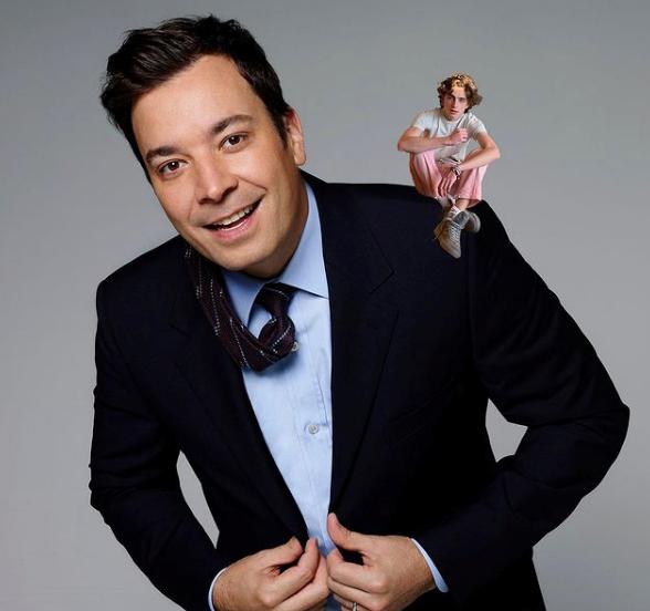 """Timmy on Jimmy. PS - Break a leg on @nbcsnl this weekend @tchalamet!,"" Wrote talkshow host Jimmy Fallon."