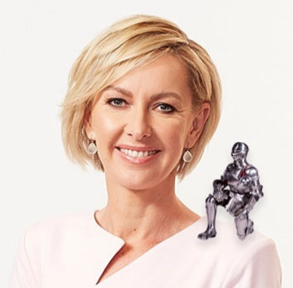 ABC's Deb Knight brought a touch of originality to the trending meme - she presents... a Knight on Knight!