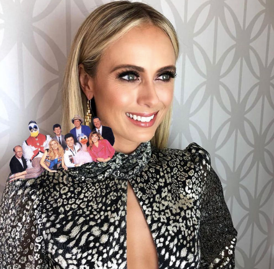 """Sylvia Jeffreys had fans in bits after sharing two brilliant creations from *Today Extra*'s corner. """"Move over #hanksonbanks ... #TodayExtra presents Hey Hey on SJ and Yeezy on DC. Our production team worked overtime on this today. So worth it"""" - scroll to see exactly why..."""