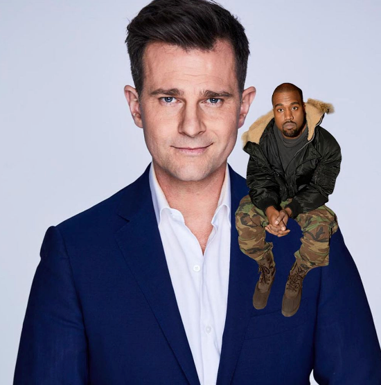 Yes, that is David Campell and Kanye West - or Yeezy on DC more accurately.