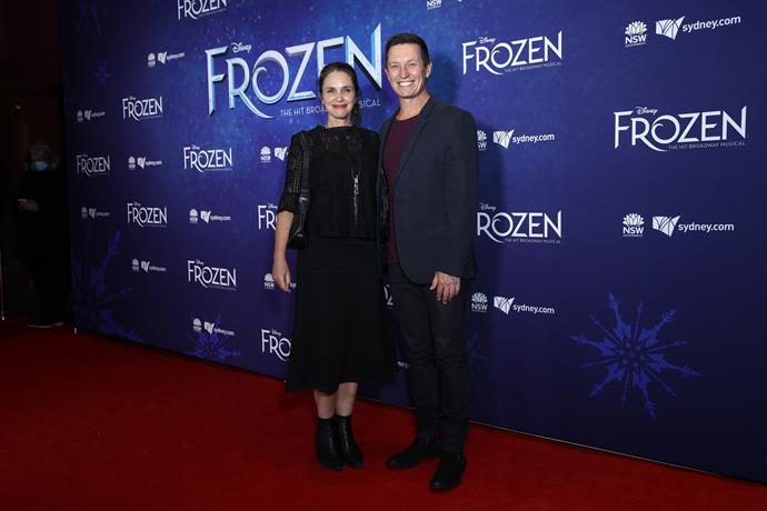 Rove McManus and wife Tasma Walton arrived looking readier than ever for a proper date night.