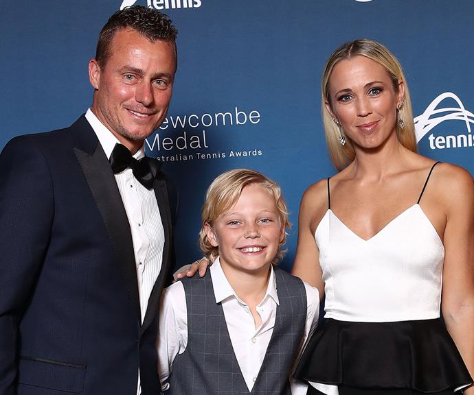 Bec and Lleyton Hewitt have taken to social media to pay tribute to son Cruz on his 12th birthday.
