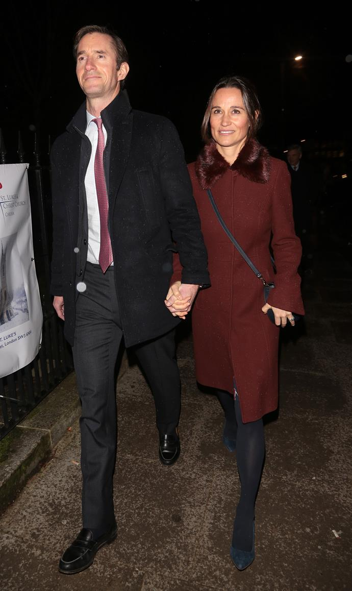 Pippa Middleton and husband James Matthews are expecting their second child.