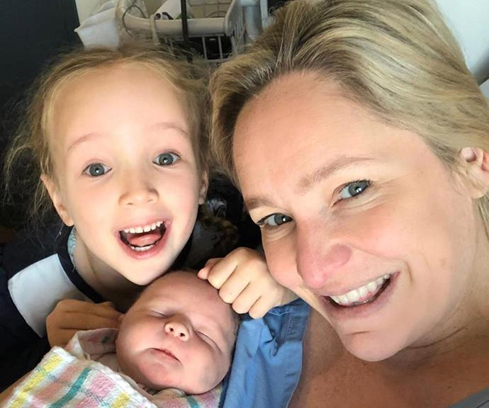 Fifi welcomed her second daughter Daisy Belle Box via IVF and a sperm donor in 2019.
