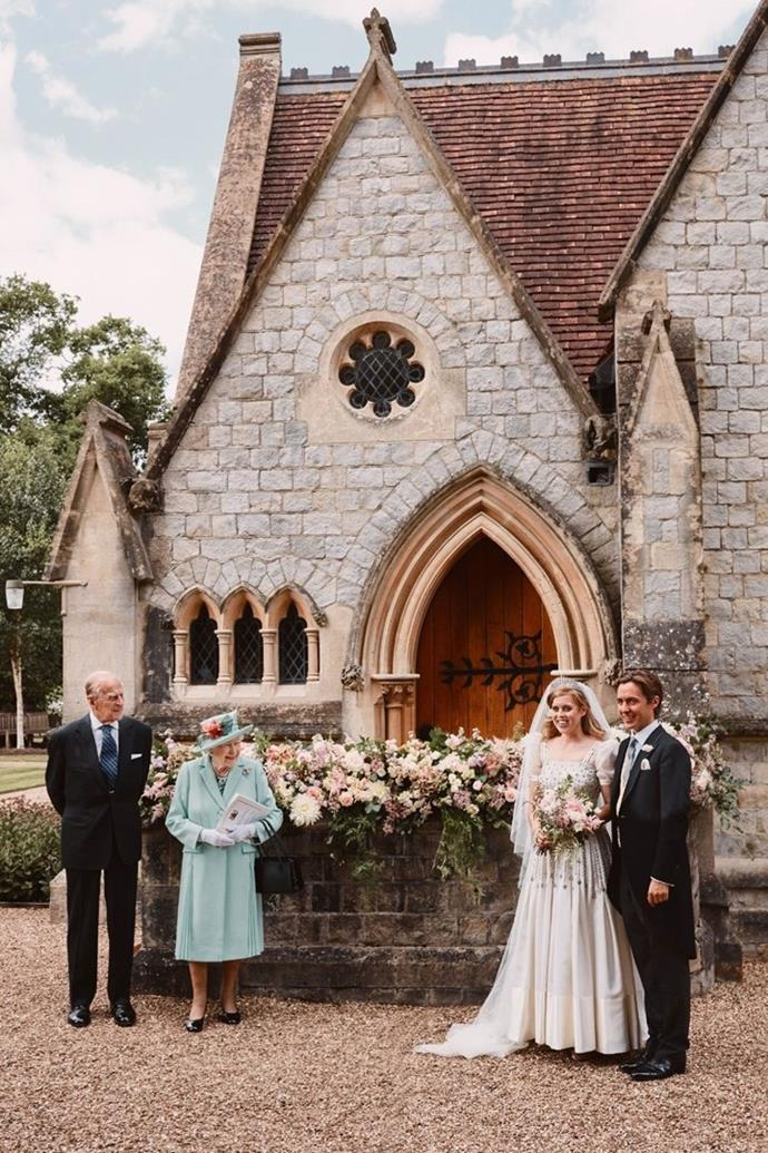 """It was a low-key affair but you could sure feel the love when [Princess Beatrice married Edo Mapelli](https://www.nowtolove.com.au/royals/british-royal-family/princess-beatrice-wedding-photos-64654