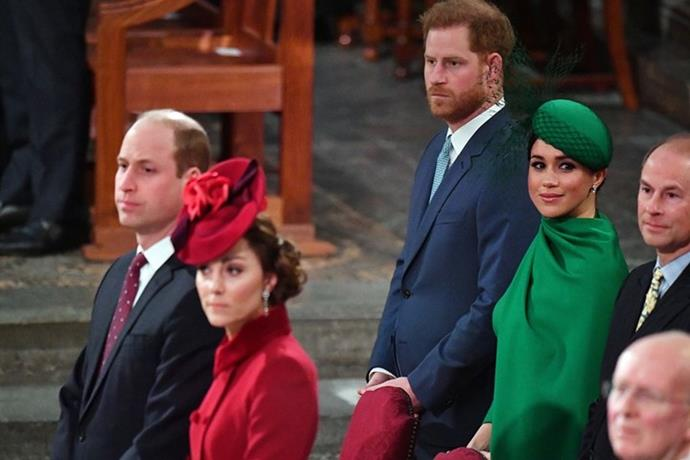 The Fab Four shared one last reunion before Harry and Meghan formerly stepped back.