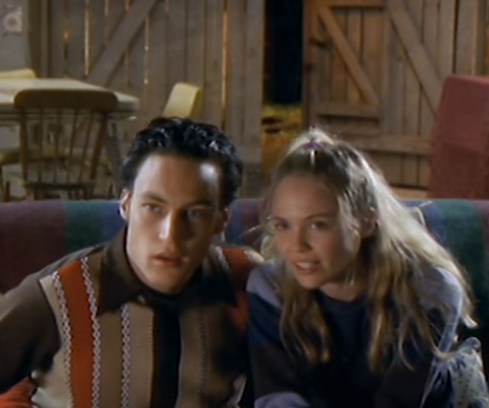 They were a 90s IT couple.