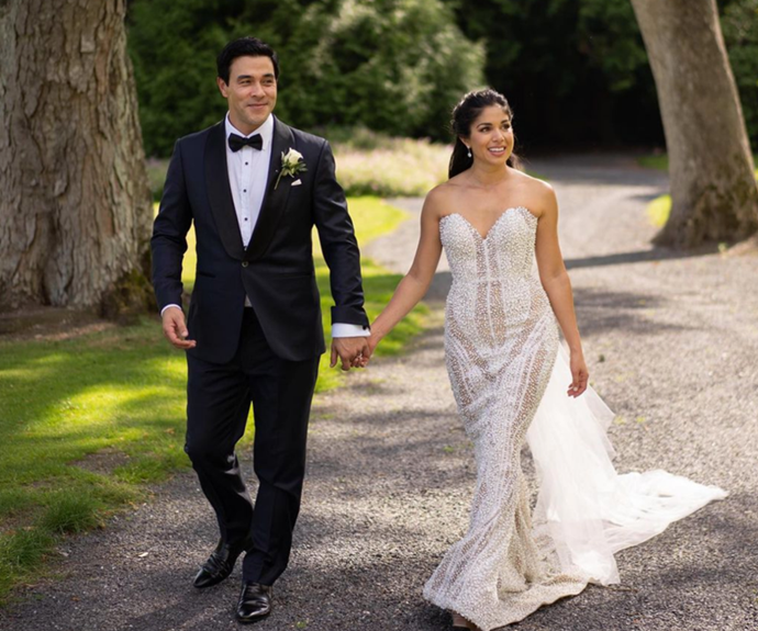 James and Sarah tied the knot in 2019.
