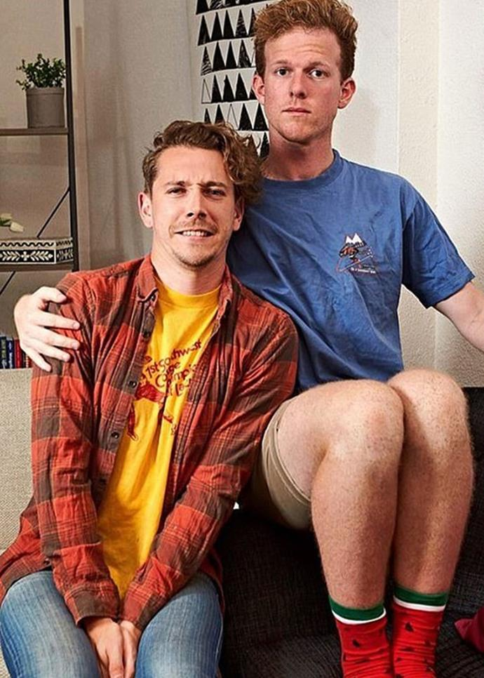 **Adam and Simon from Gogglebox** <br><br> Aussies were saddened to see this dynamic duo leave the Gogglebox couch, but now Adam and Simon are headed for our screens once more. Except, this time, people will be reacting to them!