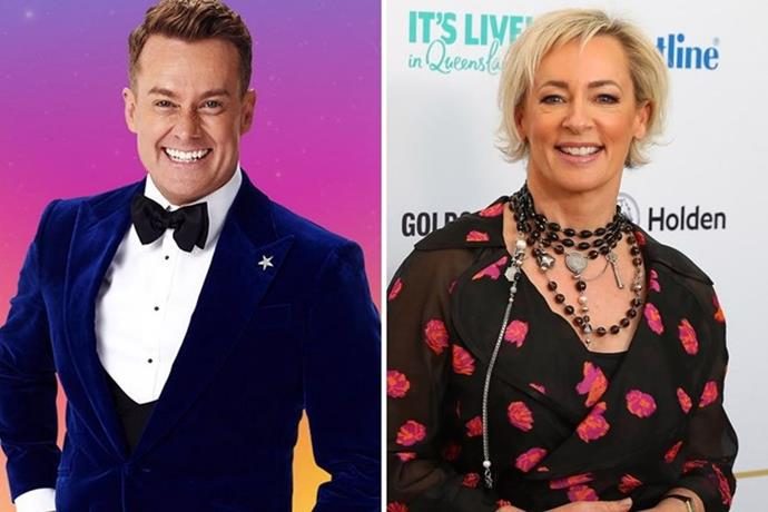 **Grant Denyer and Amanda Keller** <br><br> The hosts have become the contestants. While Grant made his debut on Sunday night, according to *TV Blackbox*, Amanda Keller is also rumoured to be joining the clan in the jungle.