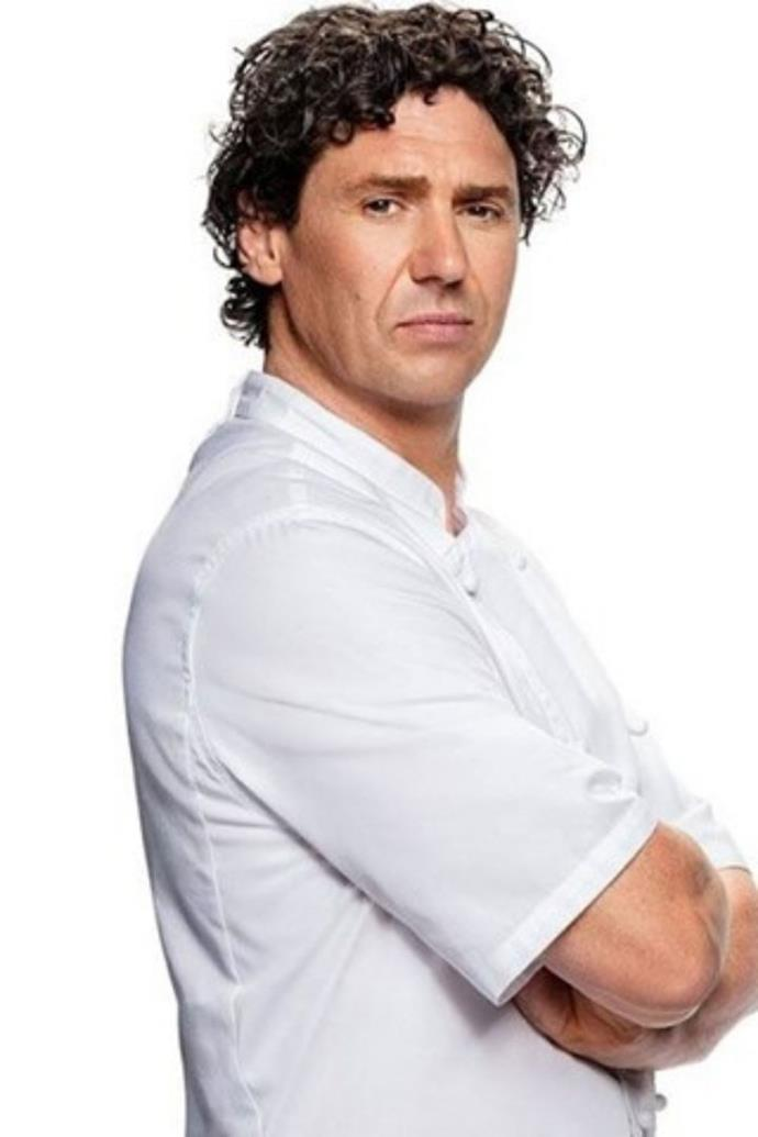 **Colin Fassnidge** <br><br> Apparently, the former *My Kitchen Rules* host was a last-minute replacement of controversial chef Pete Evans who was axed from the show mere hours before filming was due to begin.